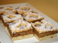 Hungarian Desserts, Hungarian Cake, Hungarian Recipes, Hungarian Food, Cookie Desserts, Cookie Recipes, Romanian Food, Salty Snacks, Bread And Pastries