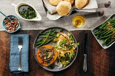 Vegducken Plated / Photo by Chelsea Kyle, Prop Styling by Alex Brannian, Food Styling by Michelle Gatton