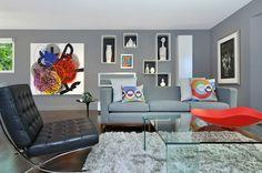 Living Room by Johnson & Associates Interior Design
