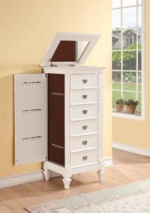 Jewelry Chest With Drawers