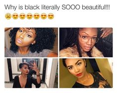 56 Trendy Ideas For Hair Black Girls Rocks Beautiful Black Girl, Black Love, Black Girls Rock, Black Girl Magic, Brown Skin, Dark Skin, Black Barbie, Trendy Hairstyles, Black Hair
