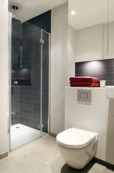 I Do However Like This Tile Horizontally Dark Shower Enclosure White Floor