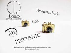 Nuevos productos en descuento !!! Pendientes Dark con el 30 % de descuento !!! #Dark #Pendientes #Descuento #Sale  Info:3123721833 Envió a todo el país.