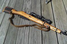 Mosin Nagant scout Scout Rifle, Battle Rifle, 22lr, Bolt Action Rifle, Submachine Gun, Hunting Rifles, Cool Guns, Assault Rifle, Guns And Ammo