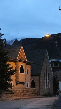 A September evening in Manitou Springs, CO.