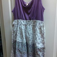 Country style dress Adorable purple country style dress with ties. Lightly worn and in very good condition. Mossimo Supply Co. Dresses
