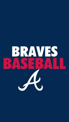 Brave Wallpaper, Mlb Wallpaper, Wallpaper Backgrounds, Iphone Wallpaper, Braves Baseball, Baseball Players, Atlanta Braves Logo, Yankees News, Sports Fanatics