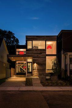 Sustainable Minimalist Barn Home