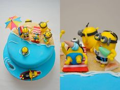 minions in the beach - Buscar con Google