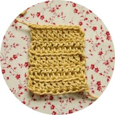 Crochet Corner: STITCH DIRECTORY . Working into the Front Loop (FL)