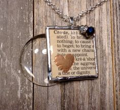 A personal favorite from my Etsy shop https://www.etsy.com/listing/504822166/magnifying-glass-necklace-with-create