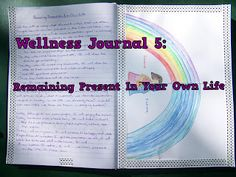 Wellness Journal Remaining Present In Your Own Life Emotional Healing, Art Therapy, Arts And Crafts, Presents, Wellness, Journal, Pretty, Blog, Life