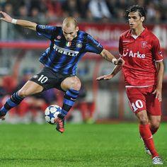 Internazionale FC Twente 2010 Sneijder Ruiz