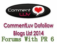 99 High PR Websites with Do Follow or CommentLuv Enabled Blogs & Forums   InfotechPOOL