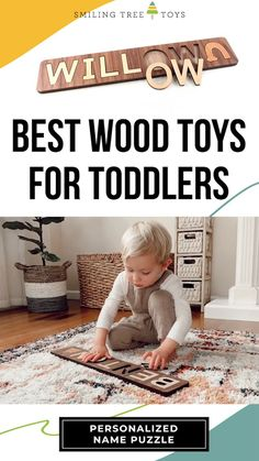 Look no further for the best wooden toys, made in the USA! Spell Well Name Puzzles teach children their names and create lasting keepsakes for life. Name Puzzle, Wooden Names, Childrens Gifts, Special Characters, Wood Toys, Toddler Toys, Kid Names, Teaching Kids, Gifts For Kids