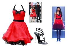 """Glee Nationals Girls"" by valeriasmythe63 ❤ liked on Polyvore featuring Wallis and Casadei"