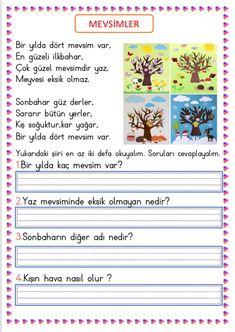 Learn Turkish, Turkish Language, Special Education, Preschool Activities, Homework, Drama, Student, Learning, Montessori