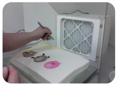 how 2 airbrush cakes   CakeSafe® - Air Brush Spraybooth Testimonials
