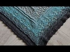 """Häkeln Tuch """"Blütenkelche"""" aus 1 Woolly Hugs BOBBEL mit Veronika Hug - YouTube"""