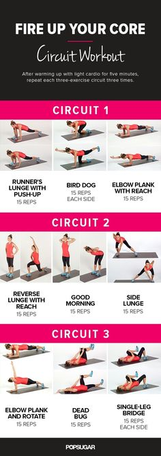 Fit sure abs workout