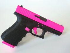 Hot Pink - Glock 19 Gen3 9mm Handgun - www.tzarmory.com
