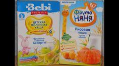 Сравнение каш Bebi Premium и Фруто няня