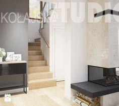 klatka schodowa-projekt wnętrza - zdjęcie od MIKOŁAJSKAstudio