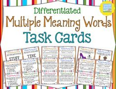 math worksheet : 1000 ideas about multiple meaning words on pinterest  homographs  : Multiple Meaning Words Worksheets 5th Grade