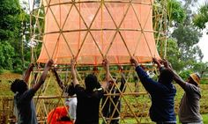 The Warka Water tower literally pulls clean drinking water straight from thin air. First debuted in rural Ethiopia, and conceived as a way to help communities in the area that lack access to safe drinking water, the innovative design recently took home the World Design Impact Prize in Taipei. Each tower consists of a bamboo frame, recyclable and biodegradable mesh, and a water tank which can easily be assembled by six local villagers in only four days. It is able to collect up to 100 liters…