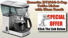 Bonavita coffee maker bonavita bv1800 8 cup coffee maker with glass