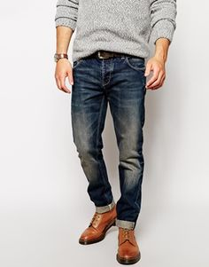 ASOS+Slim+Jeans+In+Japanese+Selvedge+Denim