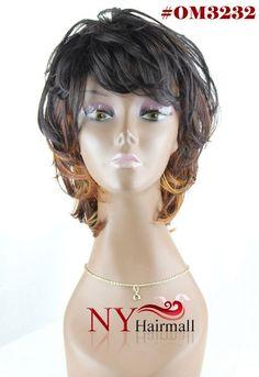Junee Fashion Manhattan Style Wig - Shaggy