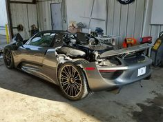 Awesome Porsche: Lightly Used Porsche 918 Spyder With 92 Miles Heads For Auction  Stuff to Buy Check more at http://24car.top/2017/2017/07/07/porsche-lightly-used-porsche-918-spyder-with-92-miles-heads-for-auction-stuff-to-buy/