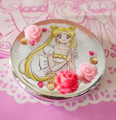 Sailor Moon 20th ITS' DEMO Japan Usagichan Princess Serenity Compact Mirror new #ITSDEMO