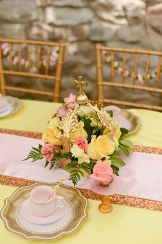 Beauty and the Beast Inspired Birthday Party