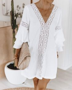 Trendy Ideas For Holiday Outfits Summer Beach Fashion Holiday Outfits Women, Summer Outfits Women, Holiday Fashion, Summer Dresses, Summer Clothes, Holiday Style, Holiday Clothes, Beach Outfits, Trendy Outfits