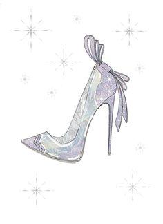 『シンデレラ』×「ニコラス・カークウッド(Nicholas Kirkwood)」ガラスの靴