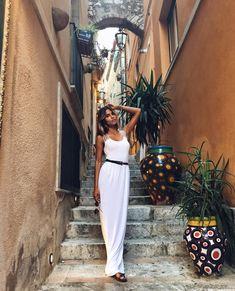 How Italian Designers and Models Do Sicily Photos | W Magazine