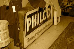 Might be a tough one: Can you find this Philco in Downtown Starkville? | Pinterest