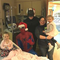 Batman, Superman, AND Super Isabella all in one room??? Talk about SUPER POWER     http://qoo.ly/d33kz