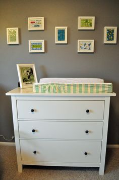 This Is An Ikea Hemnes Dresser Which We Are Using As The Changing Table