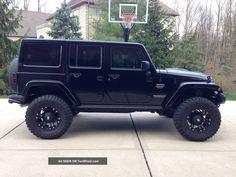 Black Jeep Wrangler 4 Door. dream car