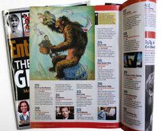 Yuko Shimizu - ENTERTAINMENT WEEKLY King Kong, Frankenstein, Jaws and Gollum
