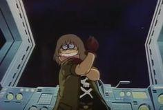 Tochiro Oyama scene from Endless Orbit SSX. Pirates, Space Pirate Captain Harlock, Galaxy Express, Films, Universe, Scene, Models, Manga, Stars