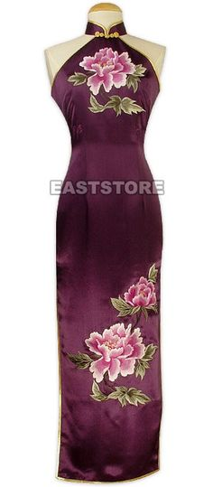Hearts will flutter and pound when you don this Hua Kai Fu Gui Embroidery Silk Cheongsam! Made from...