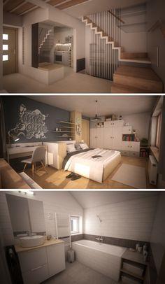 Family house design #familyhouse #housedesign #house #design #render #houserender #flat #flatdesign