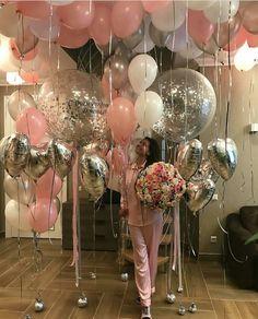 Sorpresa  Decora su habitación con globos