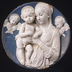Madonna and Child Workshop of Andrea della Robbia (Italian, 1435–1525)
