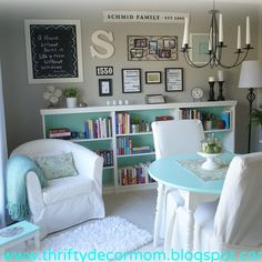 Repurpose Dining Room Into A Reading Game Playroom