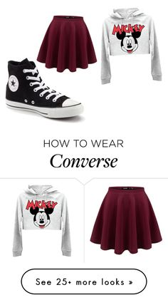 """""""Untitled #861"""" by anaiskwesele1 on Polyvore featuring Converse"""